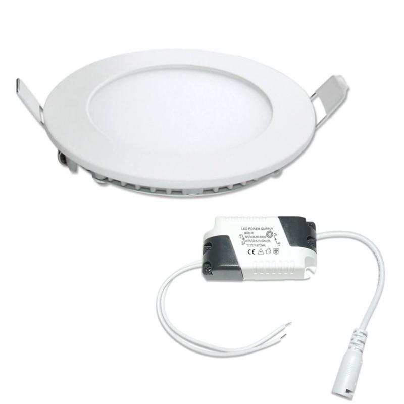 LED Painel Redondo 6W Branco