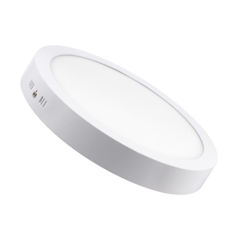 LED Downlight Redondo Superfície 12W Branco
