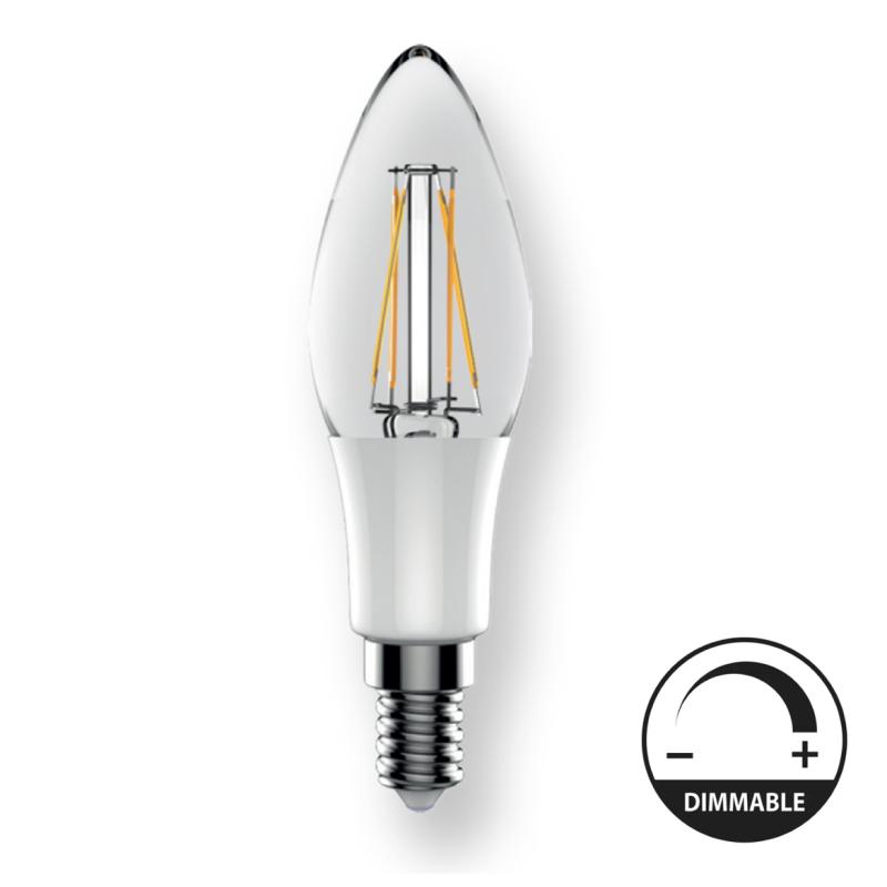 LED Lâmpada E14 5W 2700K Regulável