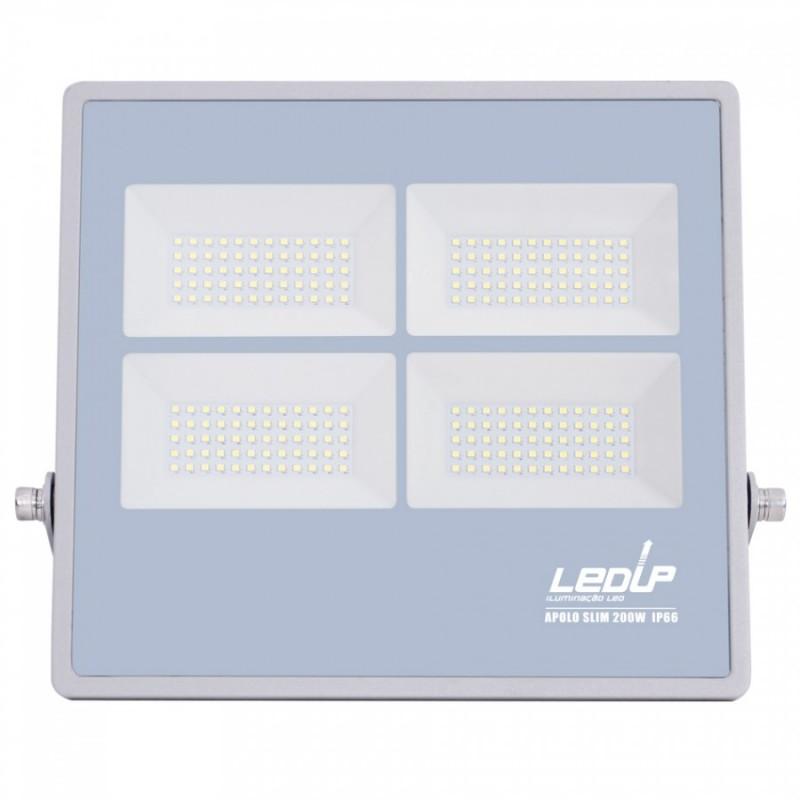 LED PRO Projetor APOLO Slim 200W IP66