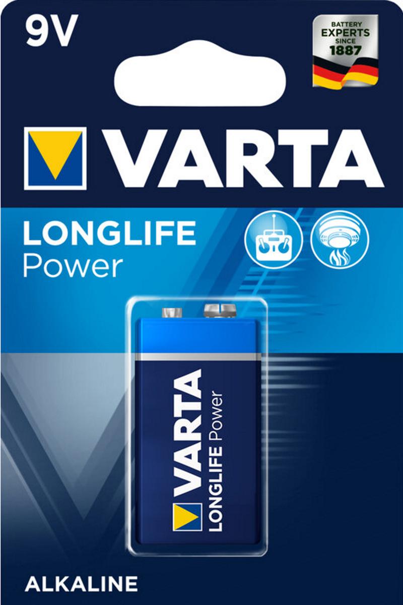 VARTA Alkaline 6LR61 9V