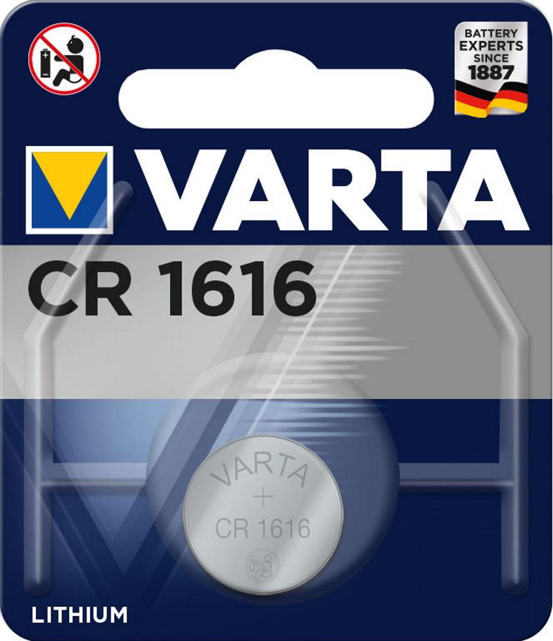 VARTA Electronics CR1616 3V Lithium