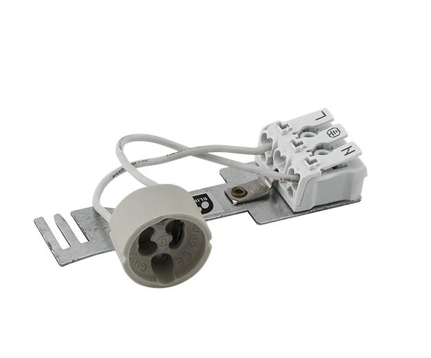 Suporte Lâmpada GU10 c/Repicagem