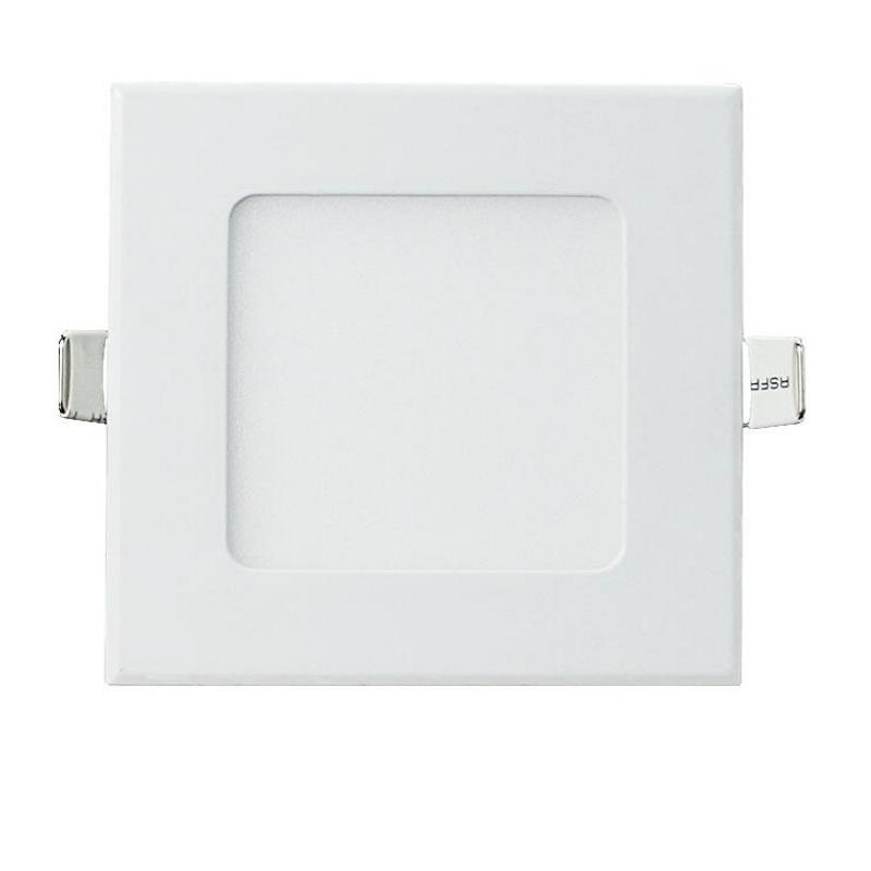 LED Downlight Quadrado 6W Branco