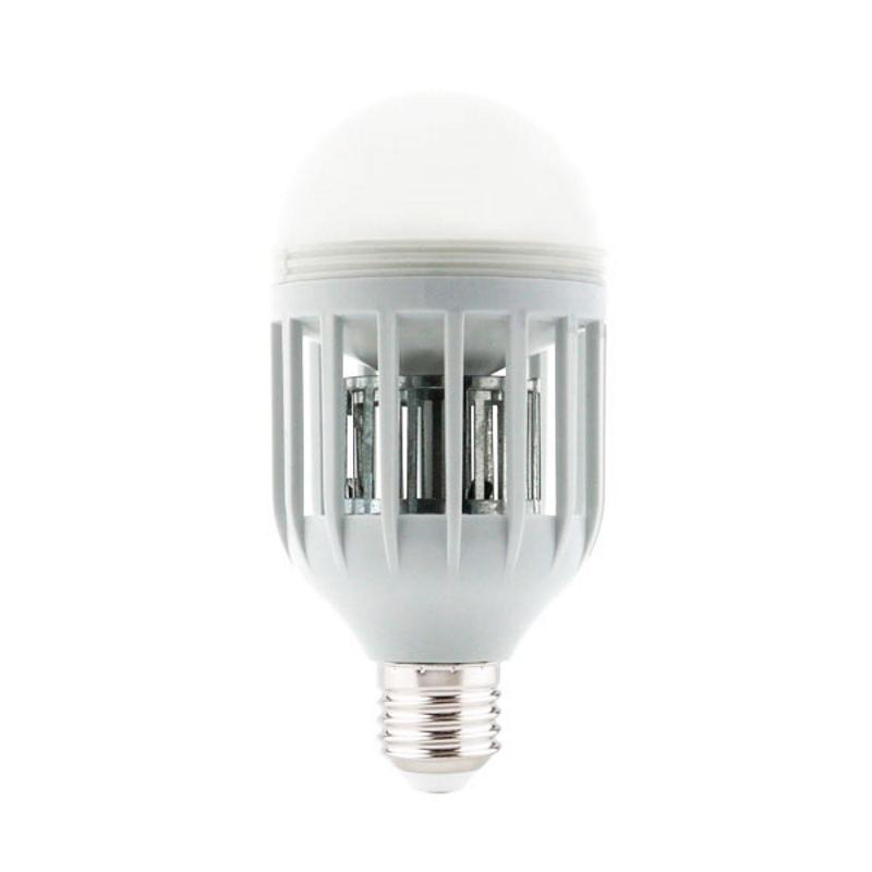 LED Lâmpada E27 15W 6000K Anti Mosquito