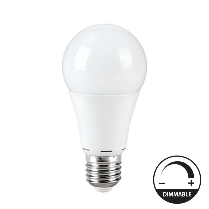 LED Lâmpada E27 A60 10W Regulável
