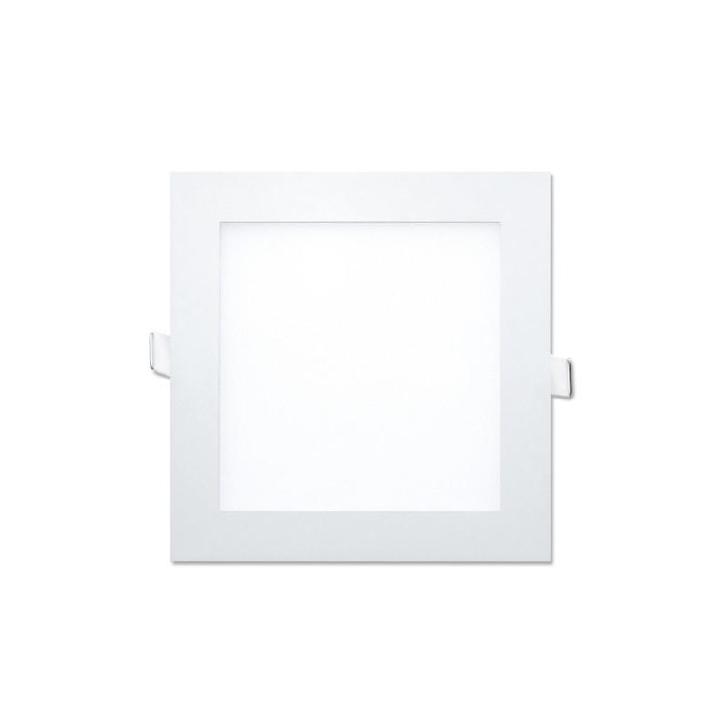 LED Downlight Quadrado 12W Branco