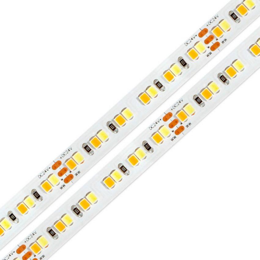LED ProStrip 24V 23W CCT 2835 IP20 (rolo 5mts)
