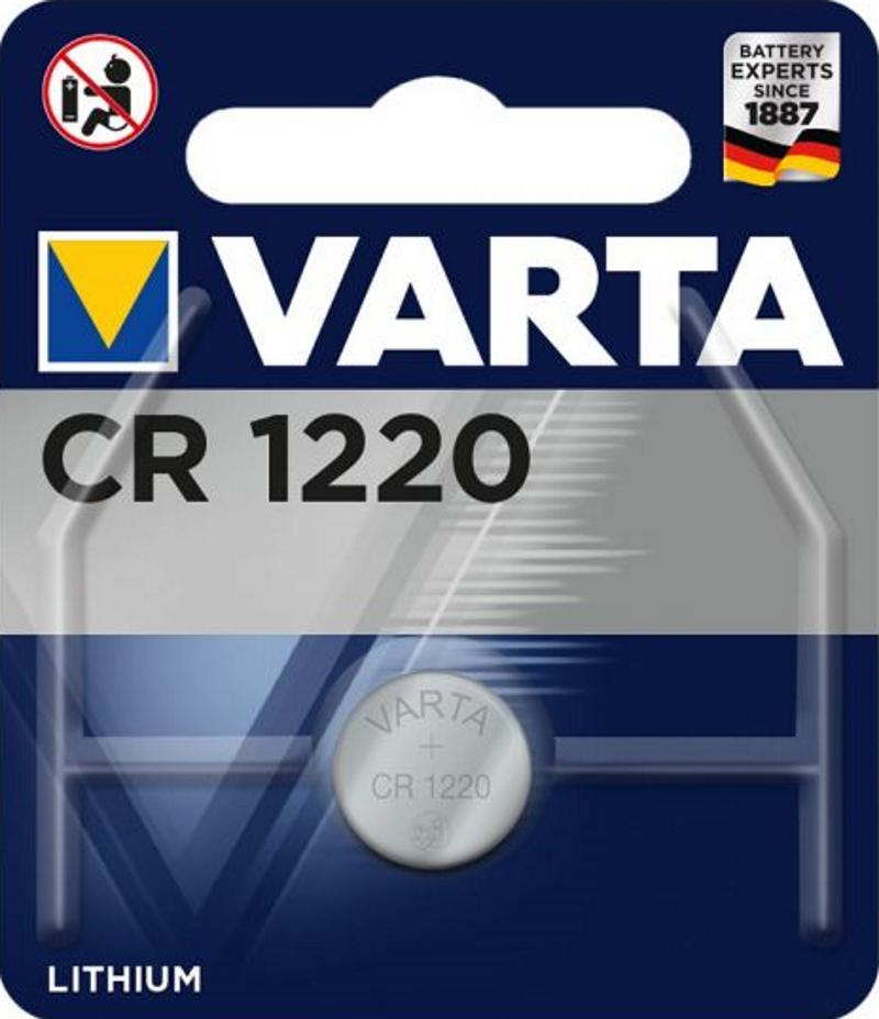VARTA Electronics CR1220 3V Lithium