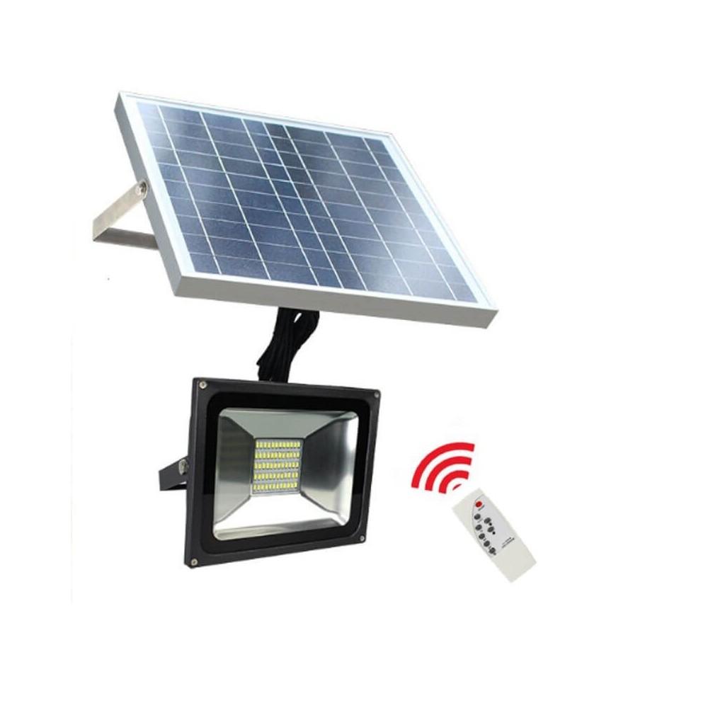 LED Projetor Exterior Solar 20W IP65 6000K