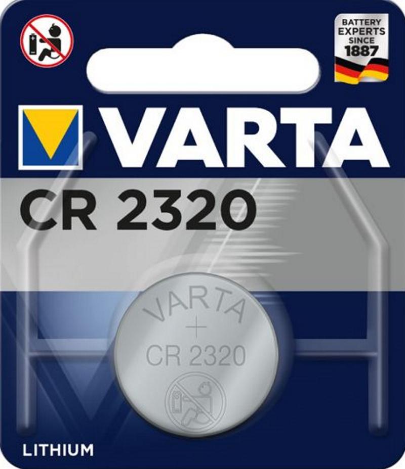 VARTA Electronics CR2320 3V Lithium