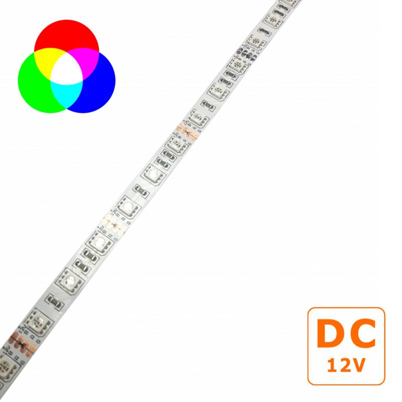 Fita LED 12VDC 14,4W/m IP20 RGB