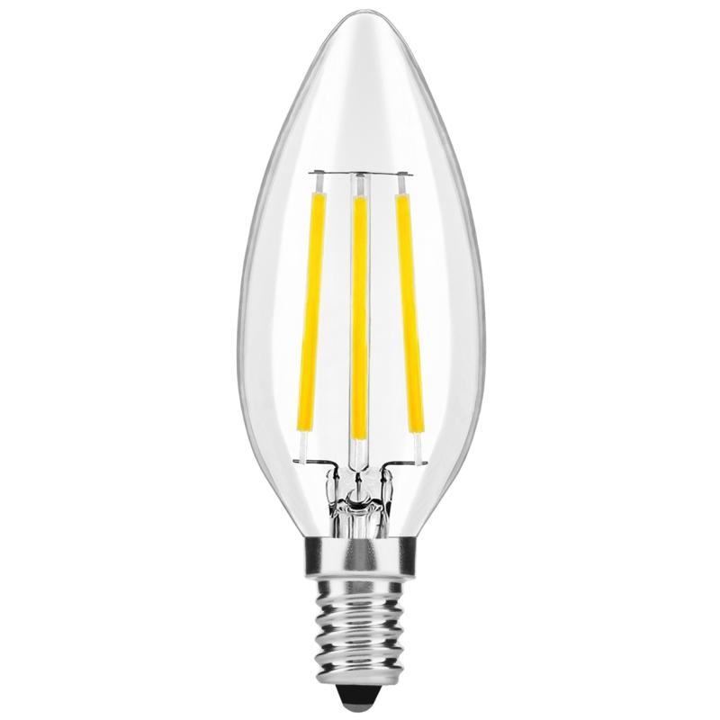 LED Lâmpada E14 Filamento 4W 360º 3000K