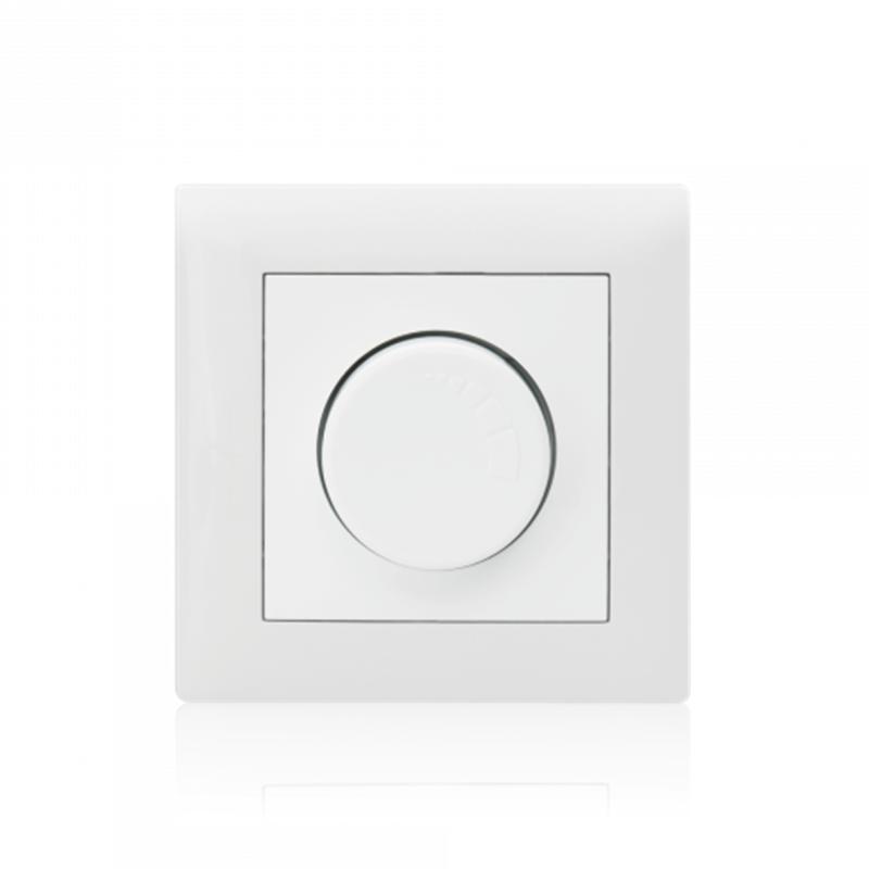 Variador Iluminação Rotativo (Mecanismo + Espelho + Centro)