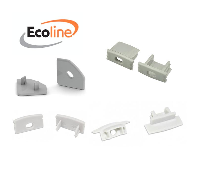 Topos para Perfil Alumínio (Serie Ecoline)