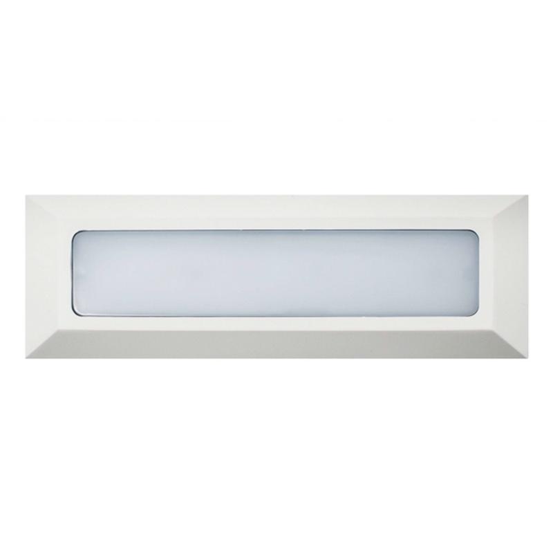 LED Baliza Superfície 6W IP54 Branco