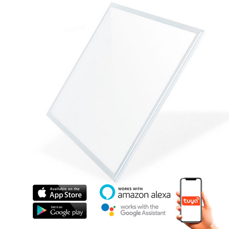 LED Painel Smart WiFi 40W 60x60cm CCT
