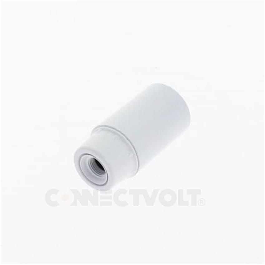 Casquilho Termoplástico E14 2A branco