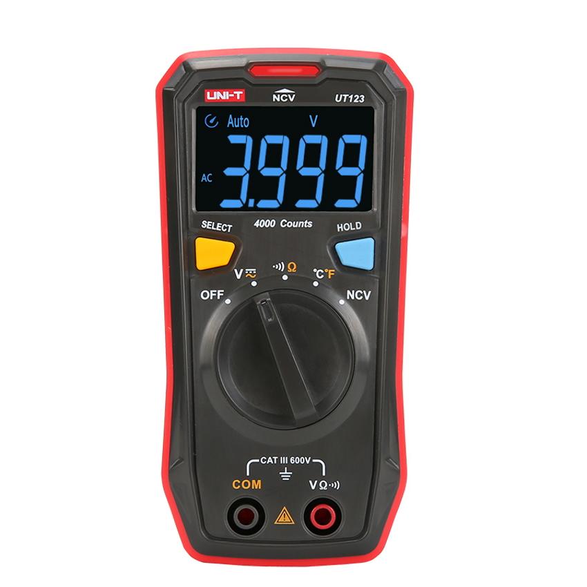 UNI-T UT123 Multímetro Digital NVC 600V