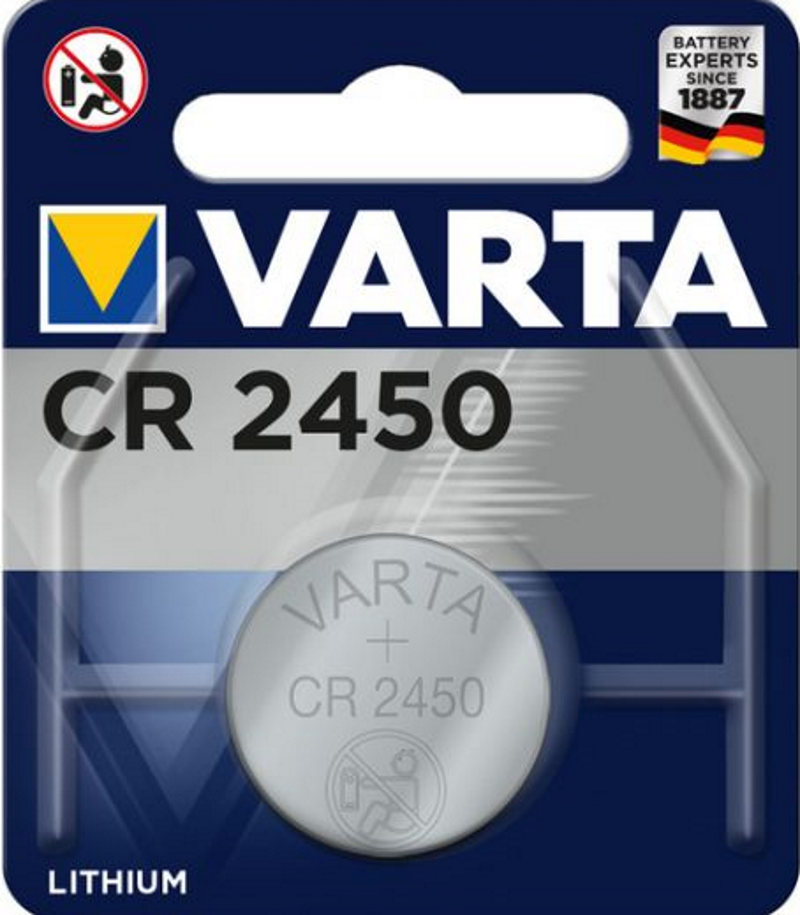 VARTA Electronics CR2450 3V Lithium