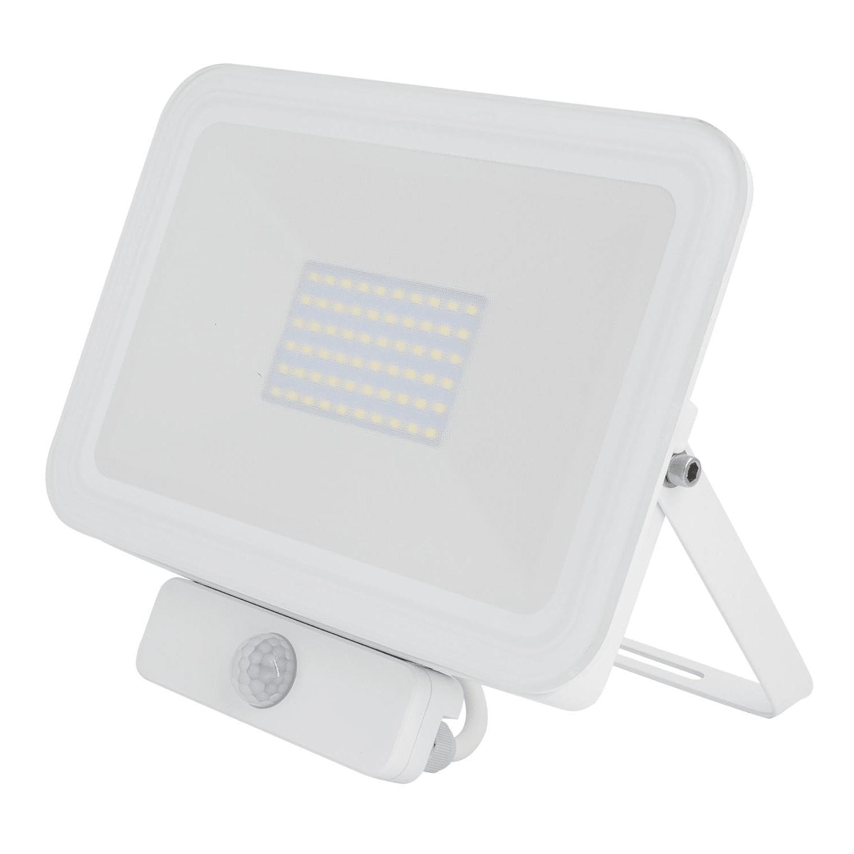 LED Projetor 50W c/Sensor Branco 6000K