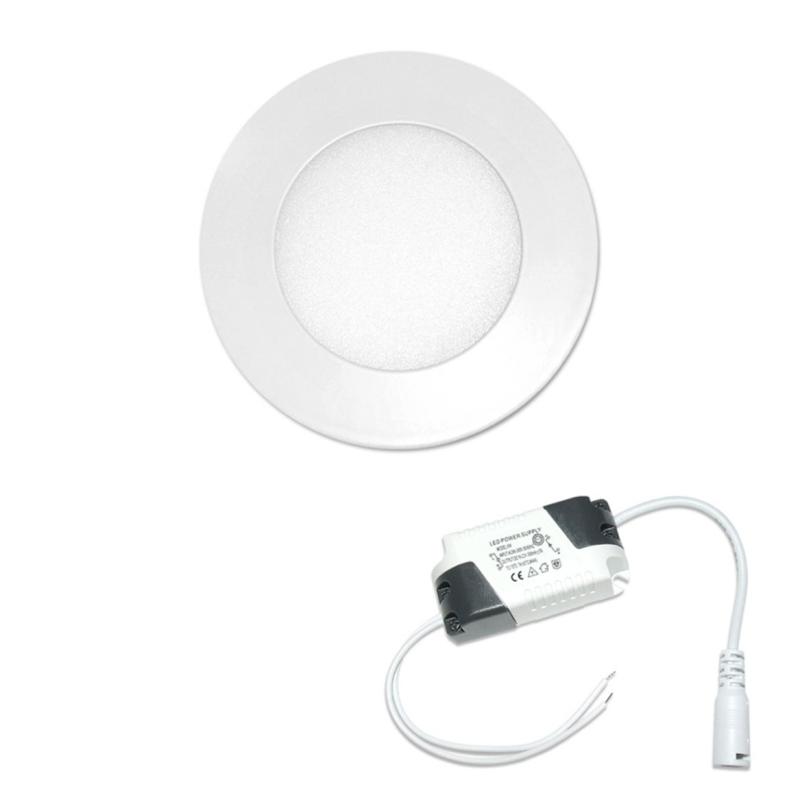 LED Downlight Redondo 3W Branco