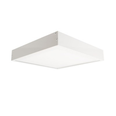 Kit Superfície Painel LED 30x30 Branco