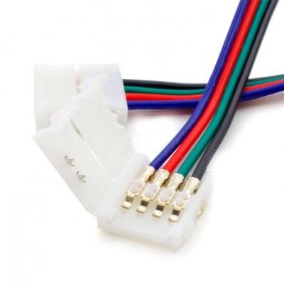 Conector Rápido Fita LED RGB 10mm