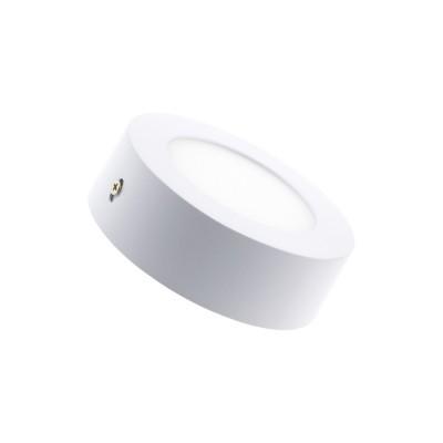 6W Painel LED Redondo Superfície