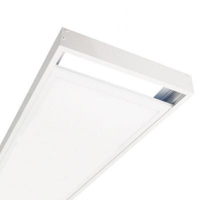 Kit Superfície Painel LED 120x30 Branco