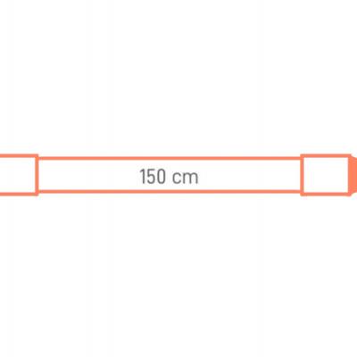 LED Tubo T8 SENSOR 22W 1500mm  5000K