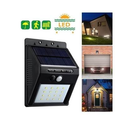 LED Luminária SOLAR 2.4W 6000K com Sensor