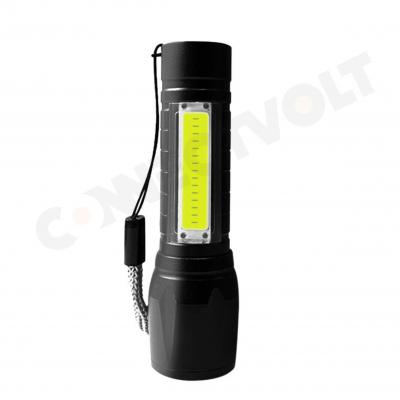 LED COB Flashlight Torch Lamp