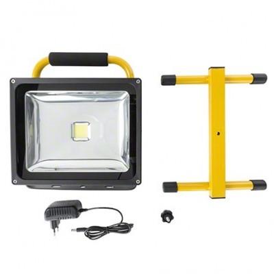 LED projetor 30W 4000K c/bateria recarregável