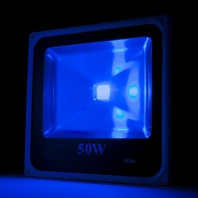 LED projetor 50W RGB IP65 c/comando