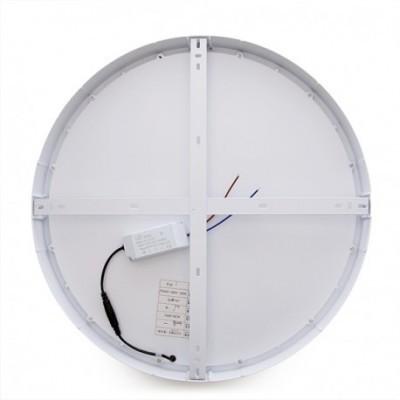 48W Painel LED Redondo Superfície