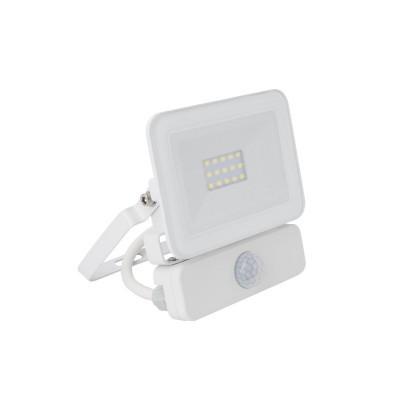 LED Projetor 10W c/Sensor Branco