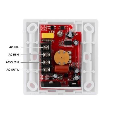 Variador LED Triac 300W c/comando IR