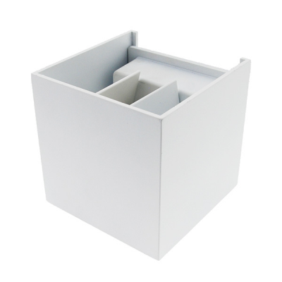 LED Aplique Cubo 6W Branco