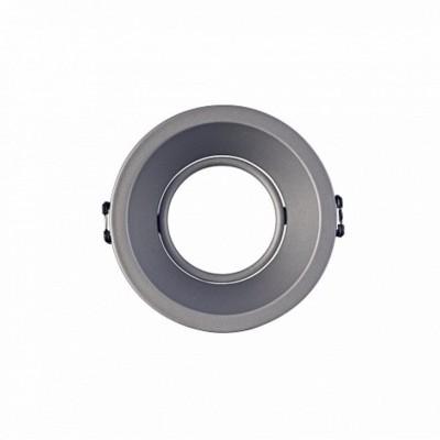 Aro GU10 IP20 Orientável Cinza