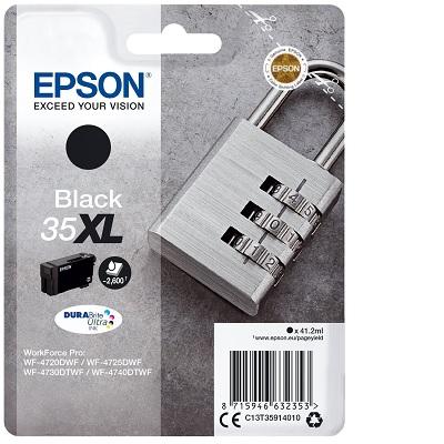 Tinteiro Epson 35XL Preto