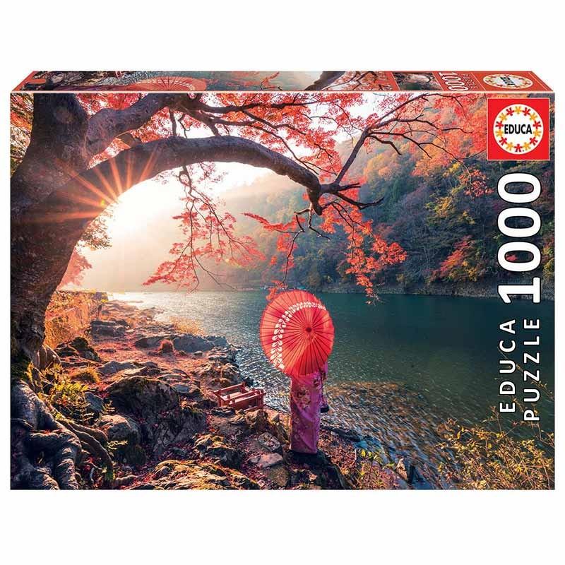 1000 Amanhecer no rio Katsura, Japão