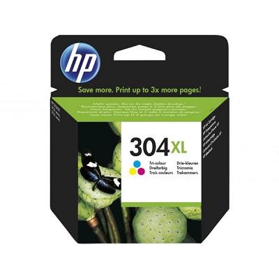 HP304XL - Tinteiro HP Cores