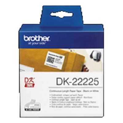 Etiquetas 38mmx30,48m Continuo DK22225