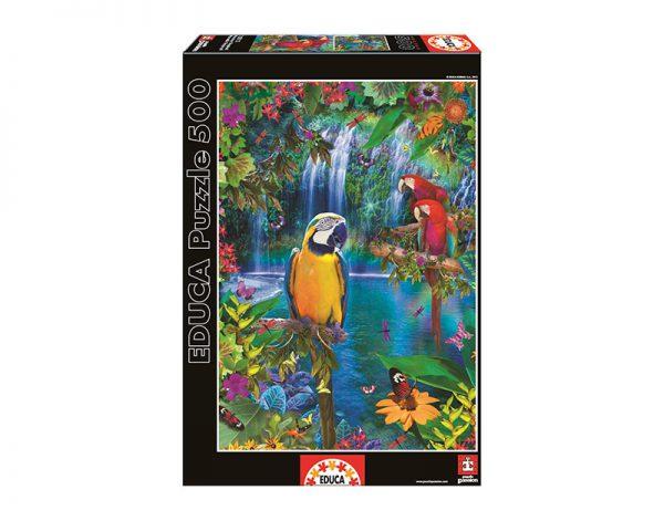500 Paraíso tropical