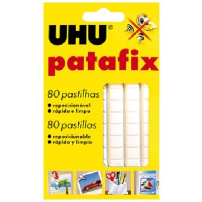 Massa Adesiva 80 pastilhas UHU Patafix Branco