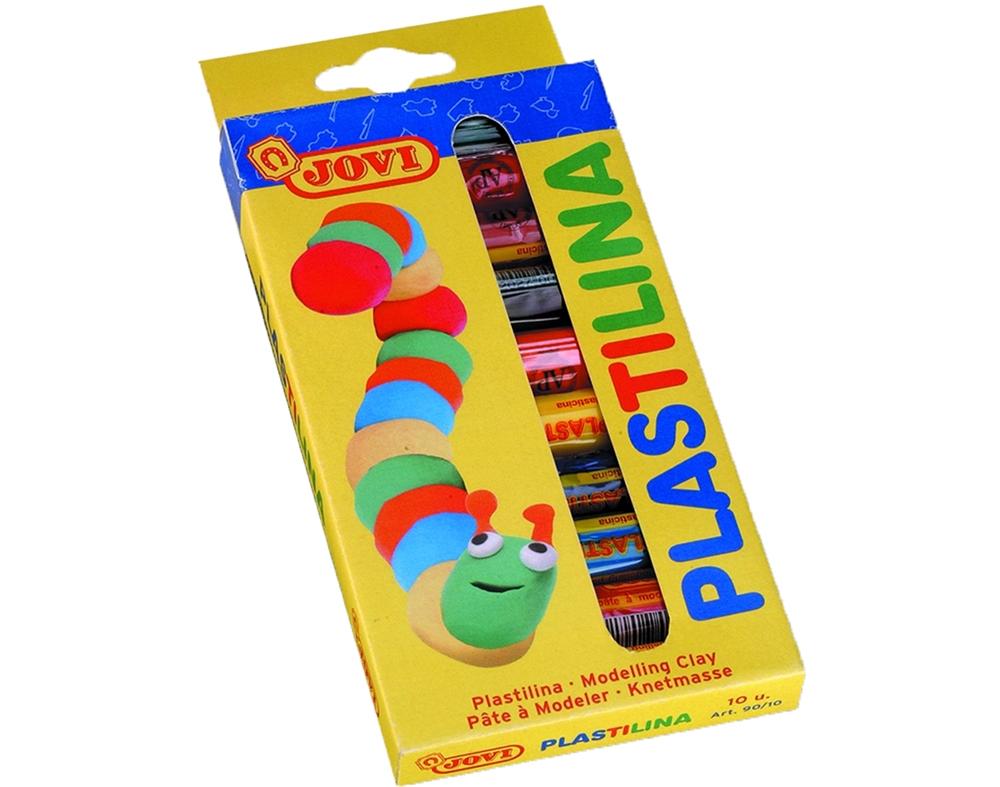 Plasticina Jovi Barra 10 Cores x 15g