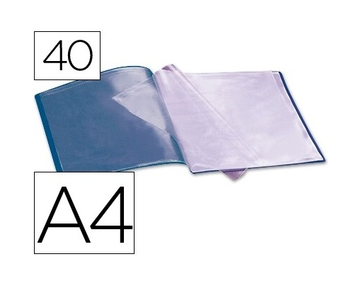 Capa Catalogo 40 Bolsas Azul