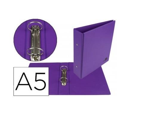 P. Arq. A5 40mm 2 Aneis Violeta