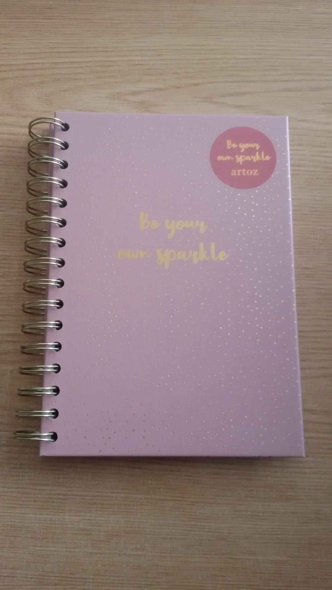 Caderno A5 Espiral Rosa 65fls 100g